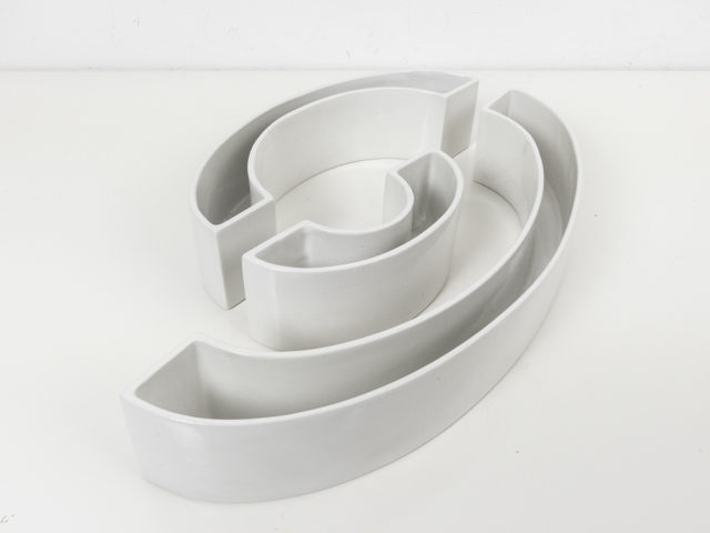 "Set of 3 ""Tremiti – Tondo"" ceramics for Danese"