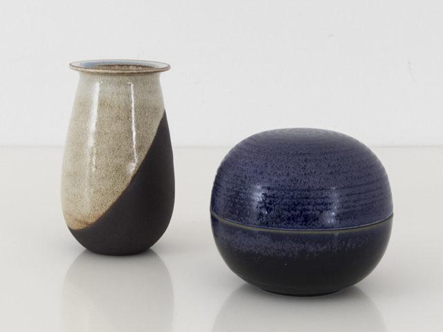 Set of 2 small ceramics for Ceramiche Arcore