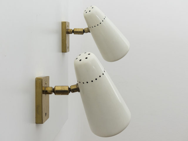 Set of 2 directable wall sconces
