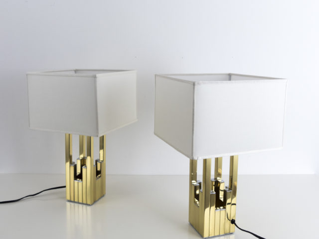 Set of 2 table lamps for Lumica