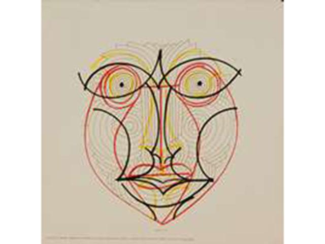 """Complete set of 6 """"La presenza degli antenati"""" silkscreen prints for Danese"""