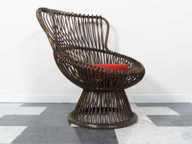 """Margherita"" armchair for Bonacina"