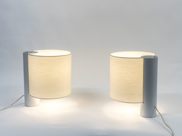 "Pair of ""Flu"" table lamps for Quattrifolio"