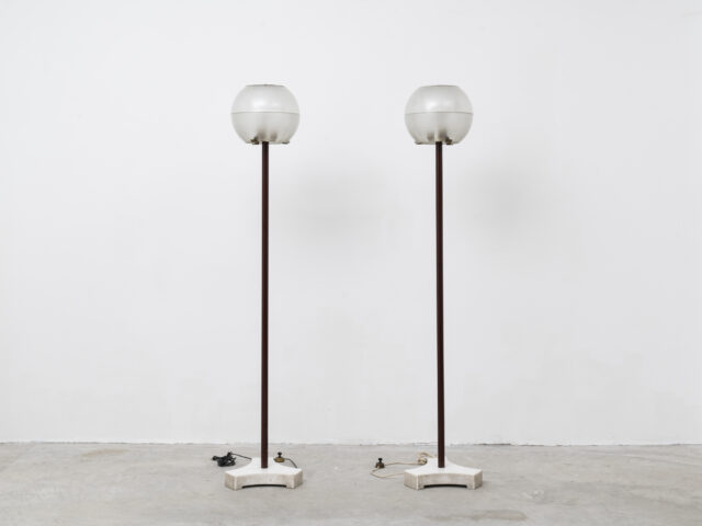 Pair of LTE 8 floor lamps for Azucena