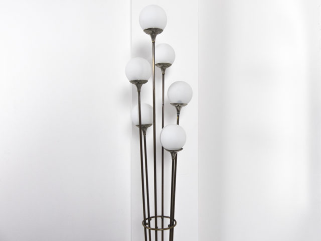 "6-ligths brass ""Alberello"" floor lamp"