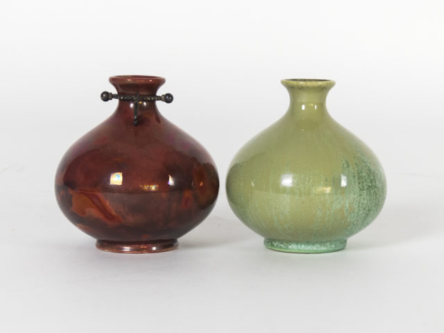"Pair of ""Monza 30"" vases for S.C.I. Laveno"