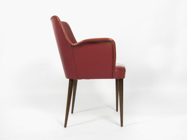P35 armchair for Arredamenti Borsani Varedo