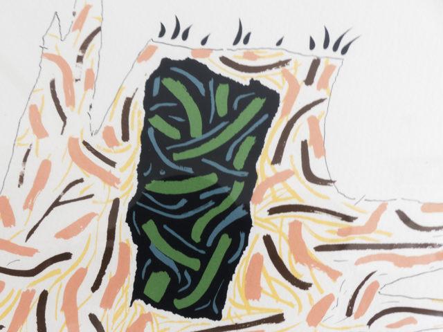"""""""Ricostruzione teorica di un oggetto immaginario"""" print for Danese"""