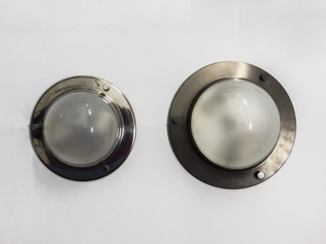 "Pair of LSP 6 ""Tommy"" ceiling or wall lamps for Azucena"