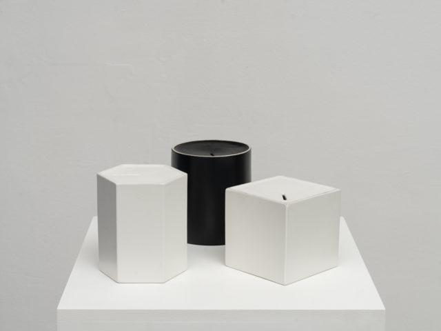 """""""Contenitori per desideri"""" model Cu, Es, Pi for Ceramiche Pozzi"""