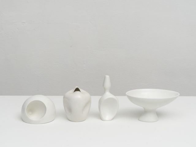Set of 4 Vasiforma and Vasi Antropomorfi ceramics for Ceramiche Pozzi