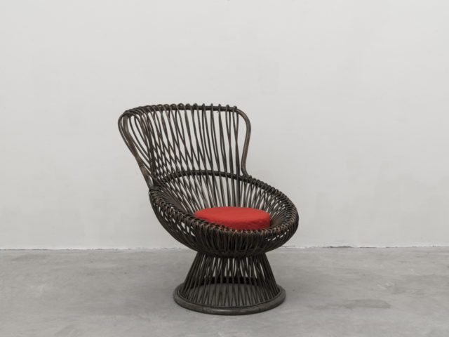 """Margherita"" armchair for Bonacina"