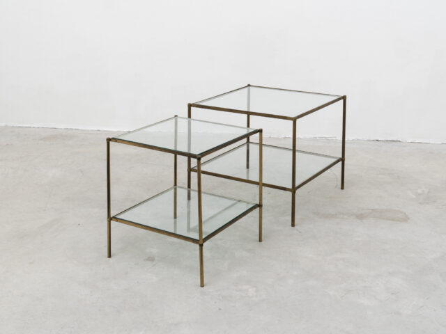 """Pair of T12 """"Montecarlo"""" coffee tables for Azucena"""