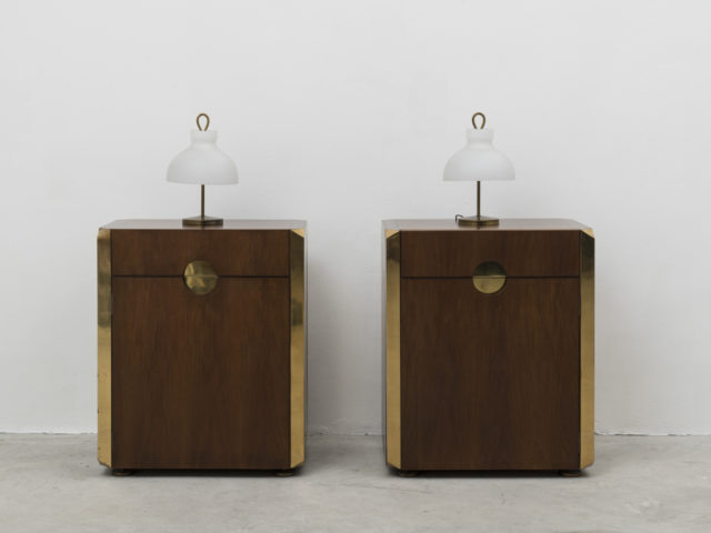 Pair of mod. MB 3 night stands or units for Azucena, 1961