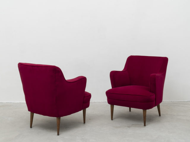 Pair of armchairs for Cassina