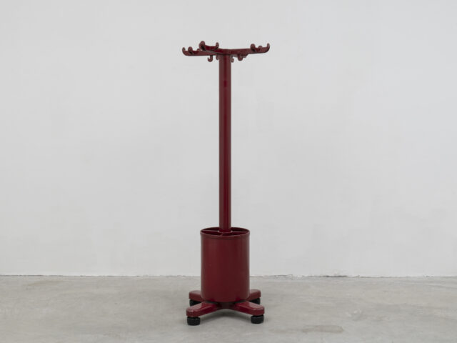 """Serie 45"" Coat hanger & umbrella stand for Olivetti Synthesis"