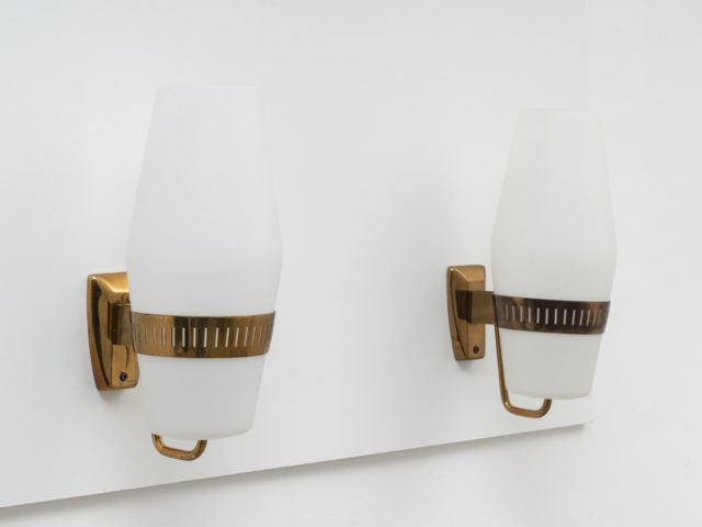 Pair of mod. 2078 wall sconces