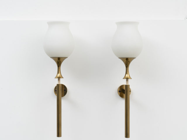 Pair of wall sconces for Arredoluce