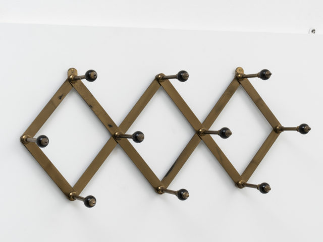 "Mod. AT 4 ""Fisarmonica"" coat rack for Azucena"