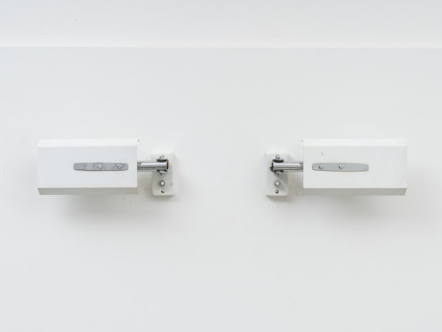 Pair of model 2133 directable wall lights