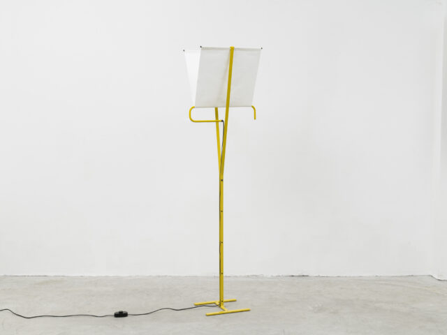 """Falena"" floor lamp for Arteluce"