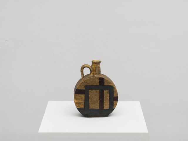 Early ceramic pitcher vase for Bitossi