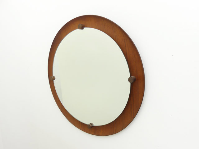 Round wall mirror for Elam