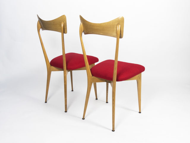 Set of 2 chairs for Ariberto Colombo