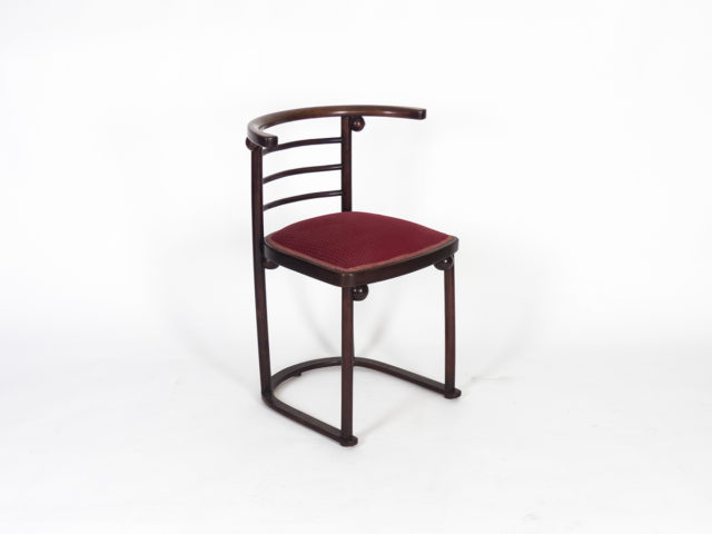 "Mod. 728 ""Fledermaus"" chair for J & J Kohn"