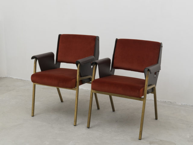 "Pair of ""Albenga"" armchairs for Arflex"