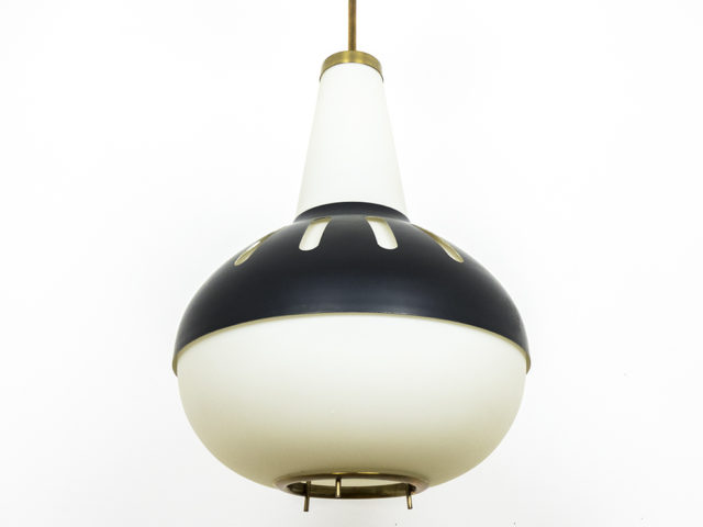 Mod. 1954 pendant lamp for Fontana Arte