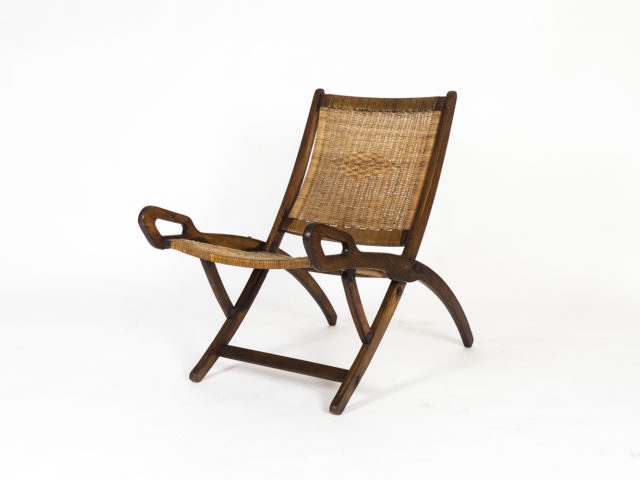 Ninfea folding armchair for Reguitti