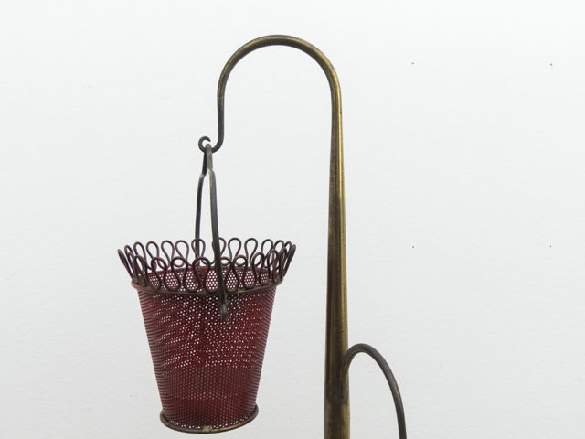 Brass tripod plant stand