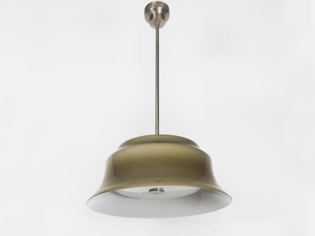 """""""Merope"""" glass pendant light for Artemide"""
