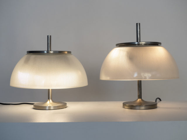 "Pair of ""Alfetta"" table lamps for Artemide"