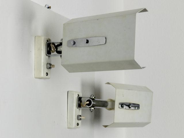 Pair of model 2133 adjustable wall lights