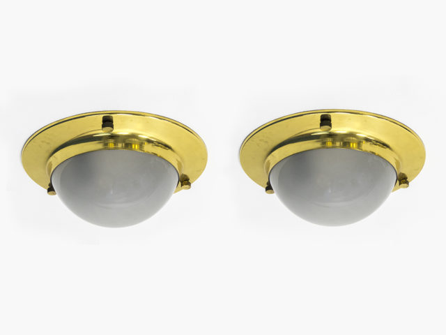 "Pair of large ""Tommy"" wall or ceiling lights for Azucena"