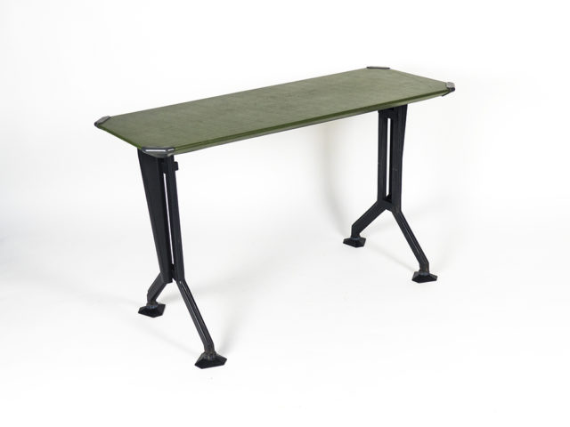 "Small ""Arco"" console table for Olivetti Synthesis"