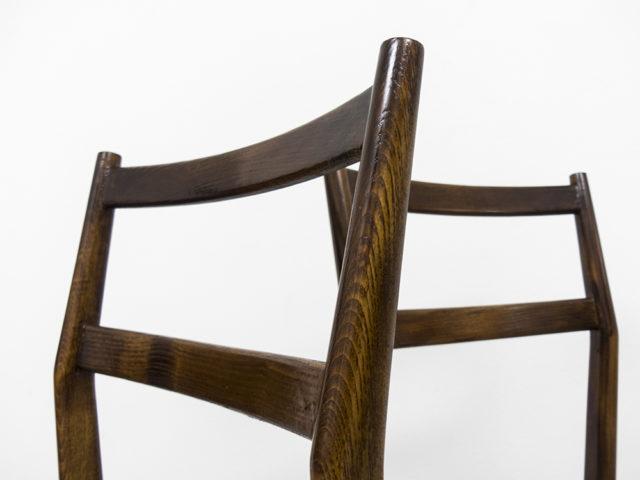 "Set of 2 mod. 646 ""Leggera"" chairs for Cassina"