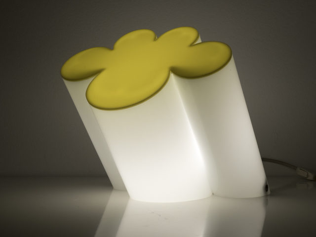 """Passiflora"" table or floor lamp for Poltronova"